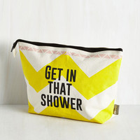 Festival Queen of Clean Toiletry Bag Size NS by Disaster Designs from ModCloth