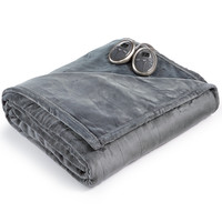 CLOSEOUT! Slumber Rest Velvet Plush Heated Blankets by Sunbeam | macys.com