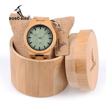 BOBO BIRD WB22 Bamboo Mens Watch