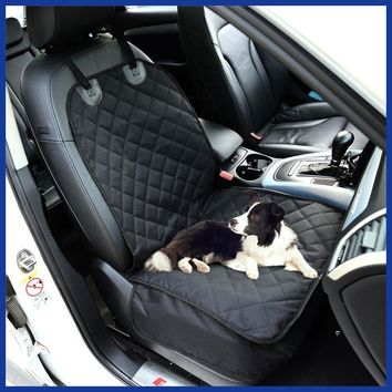 Dog Car Front Seat Cover Protector Waterproof Non-slip Mat.
