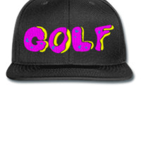 Golf embroidery