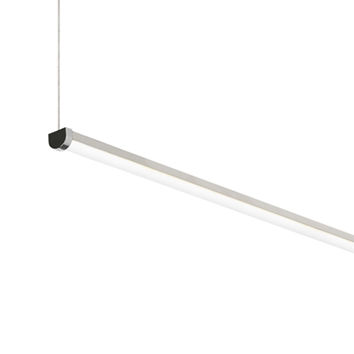 Tech Lighting 700LSRAER648C-LED840 Rae Chrome 48-Inch Length 2400 Lumens 4000K 80 CRI LED Linear Suspension Pendant - (In No Image Available)