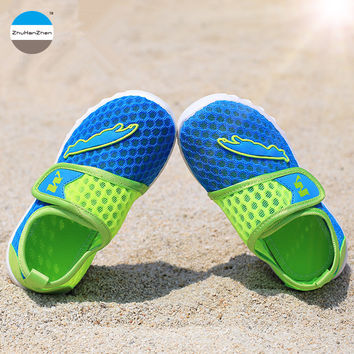 2017 Summer 1 - 8 years old baby boys and girls casual shoes fashion kids sneakers breathable children's running shoes brand