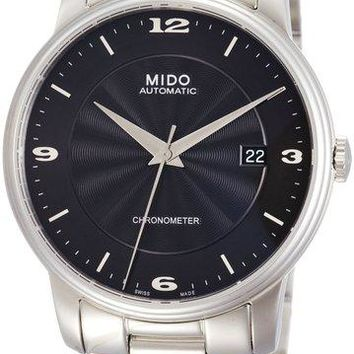 Mido Baroncelli Stainless Steel Automatic Watch M010.408.11.057.00