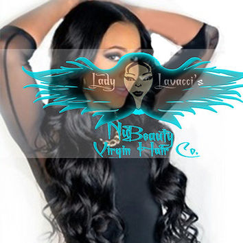 Grade 8A 3 ,4, and 5 Bundles + 1 Closure Deal Virgin  Human Hair