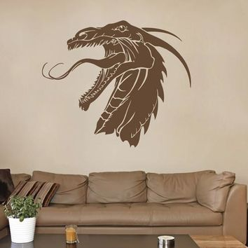 ik1603 Wall Decal Sticker Dragon mythical animal living bedroom teens