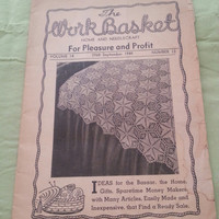 The Work Basket Home and Needle Craft for Pleasure and Profit Volume 14 (2968) September 1949 Number 12