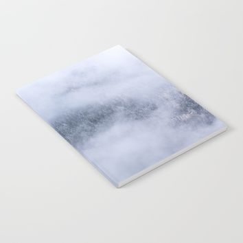 Beneath The Fog Notebook by Mixed Imagery