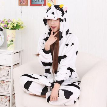 PEAPIX3 Cartoons Couple Animal Sleepwear Halloween Costume [9221227716]