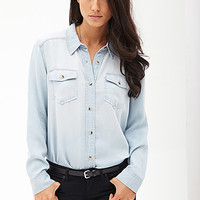 Chambray Button-Down Shirt