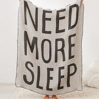 Printed Woven Jacquard Throw Blanket | Urban Outfitters