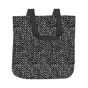 Hand Knit Tote Bag