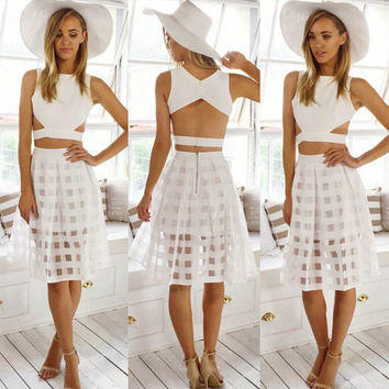 Sheer Lines Two-Piece