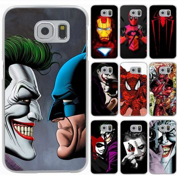Lavaza Joker Killing Joke Deadpool Spider Hard Phone Cover for Samsung Galaxy S6 S7 Edge S8 S9 Plus S3 S4 S5 Case Shell