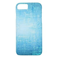 Blue Abstract iPhone 8/7 Case