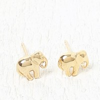 Ettika Elephant Stud Earring Set - Womens Jewelry - Gold - One