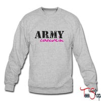 army cousin crewneck sweatshirt