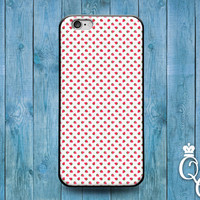 iPhone 4 4s 5 5s 5c 6 6s plus + iPod Touch 4th 5th Generation Cool Custom Super Cute Strawberry Pattern Design Phone Case Pretty Fruit Cover