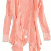 AEO Women's Open Waterfall Cardigan