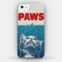 PAWS (JAWS PARODY) IPHONE CASE