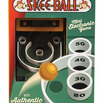 Retro Tabletop Skee Ball Game