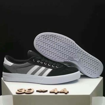 Adidas NEO Couple Casual Running Sport Shoes Sneakers black white