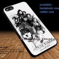 House Stark Game Of Thrones DOP1110 iPhone 6s 6 6s+ 5c 5s Cases Samsung Galaxy s5 s6 Edge+ NOTE 5 4 3 #movie #gameofthrones