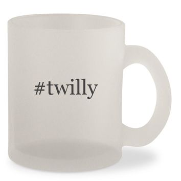 #twilly - Hashtag Frosted 10oz Glass Coffee Cup Mug
