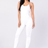 Nova Season Jumpsuit - White