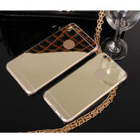 Mirror Electroplating Cases For iPhone 6 6s 6 6sPlus Samsungs6