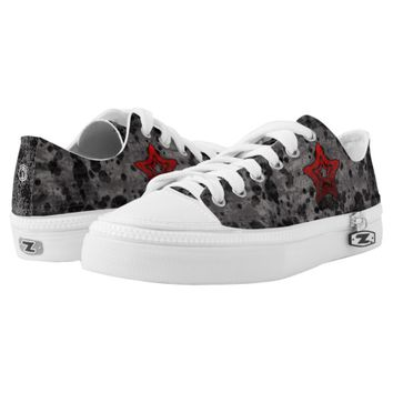 JCD StarRed Zipz Low Top Shoes