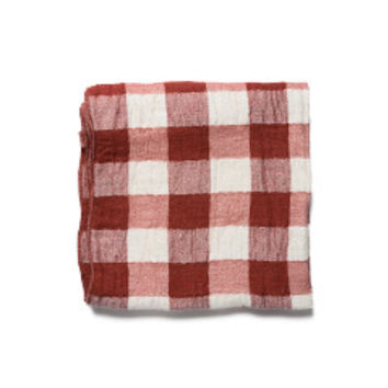 Japanese Double-Sided Summer Towel (Red)