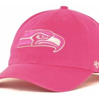 Seattle Seahawks NFL Womens Berry Clean Up Cap