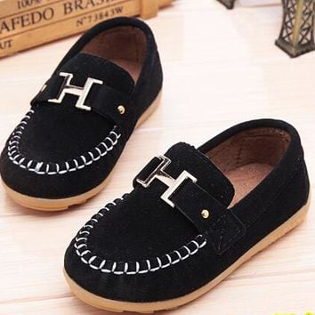 new Autumn comfortable breathable loafers shoes for kids size 7895