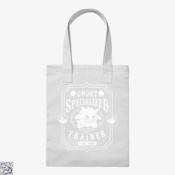 Gangar Ghost Specialized Trainer, Pokemon Tote Bag