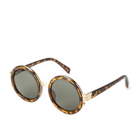 FOREVER 21 Metal-Rimmed Round Sunglasses