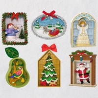 Songs of the Season Exclusive Ornaments, Set of 6