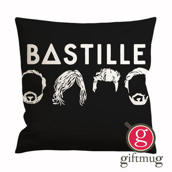 Bastille Logo Icon Cushion Case / Pillow Case