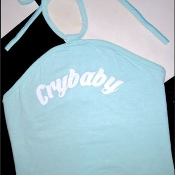 SWEET LORD O'MIGHTY! CRYBABY HALTER IN BLUE