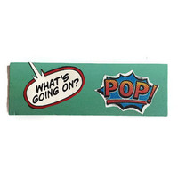 POP fridge magnet BLUE Unique Retro Decor for Home or Office ~ Quirky Stocking Filler