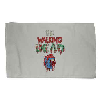 Walking Dead Heart Rug