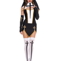Bad Habit Nun Adult Womens Costume