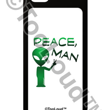 Peace Man Alien iPhone 5 / 5S Grip Case