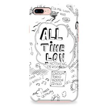ALL TIME LOW DOODLE iPhone 8 | iPhone 8 Plus Case