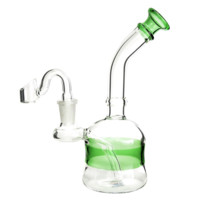 "USA 6.5"" Color Stripe Water Pipe 14mm"