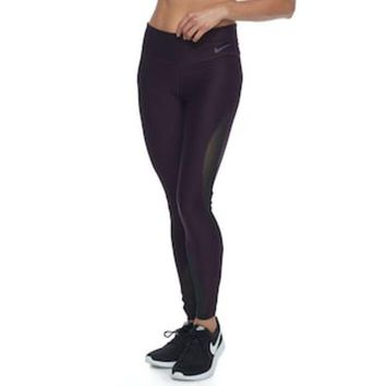 ONETOW Women's Nike Power Training Mesh Tights | null