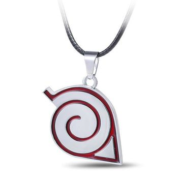 Naruto Hokage Logo Metal Alloy Necklace