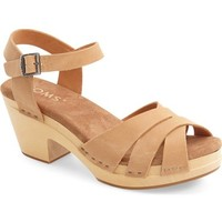 TOMS 'Beatrix' Leather Sandal (Women) | Nordstrom