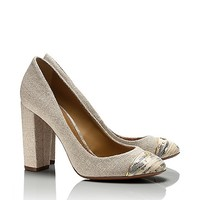 Ethel Linen Pump