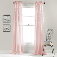 Lush Décor C20579P14-000 Avery Window Curtain (Set of 2) | ATG Stores